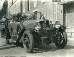 Automobile Panhard Levassor Série S 1926 - Carte Photo Ancienne Originale - Cars