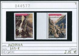 Andorra - Andorre Francaise - Michel 667-668 ** Mnh Postfris - French Andorra