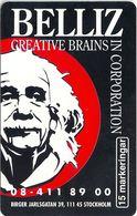 Sweden - Telia - Belliz Creative Brains Einstein - 15U, 11.1996, 1.500ex, Mint (check Photos) - Sweden