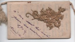 Calendrier De Poche/20 Pages/Couv. Gaufrée Dorée/Chevalier Terrassant Le Dragon/Giovani/Caffé Orientale/1904   CAL389 - Calendari