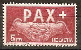 Zu 273 / Mi 458 / YT 416 PAX 1945 Obl. SBK 300,- CHF Voir Description - Suisse