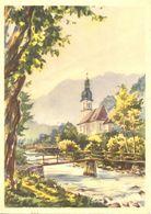 Allemagne - Ramsau Bei Berchtesgaden Nach Aquarell Von Herbert Borchard - Ervau 22/2 Ecrite, Timbrée - 5496 - Berchtesgaden