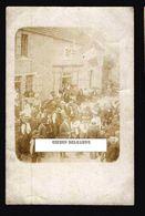 CPA 52 CARTE PHOTO De HORTES Fête Patronale 27 5 1906 Devanture Café - Belle Animation - Autres Communes