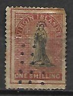 VIRGIN  ISLANDS   -   1867.   Y&T N° 7 Oblitéré. - Iles Vièrges Britanniques