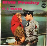Disque Vinyle 45 T ELVIS PRESLEY  G.I. BLUES - Other - French Music
