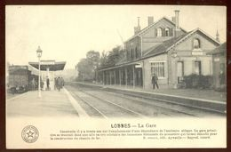 Cpa Lobbes  Gare   1911 - Lobbes