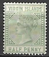 VIRGIN  ISLANDS   -   1883.   Y&T N° 12 (*) - Iles Vièrges Britanniques