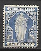 VIRGIN  ISLANDS   -   1899   Y&T N° 22 * - Iles Vièrges Britanniques
