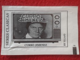 SOBRE DE AZÚCAR PACKET OF SUGAR SERIES CLÁSICAS DE TELEVISIÓN TV. SERIAL VER FOTO/S Y DESCRIPCIÓN. CURRO JIMÉNEZ - Azúcar