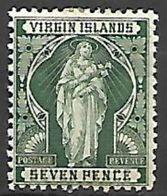 VIRGIN  ISLANDS   -   1899   Y&T N° 25 * - Iles Vièrges Britanniques