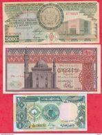 Autres-Afrique 9 Billets 4 En UNC 1 NEUF 3 Dans L 'état Et 1 Usagé - Other - Africa