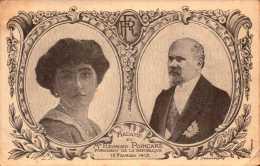 Histoire   - M Et Mme Raymond Poincaré - Président De La République - R/V  - Bill-846 - R/V - History
