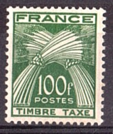 1946/55 - Timbre-Taxe N° 89 - Neuf * - Cote 50 - 1859-1955 Mint/hinged