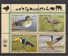 United Nations - 2003, Birds 4v Mnh - Wien - Internationales Zentrum