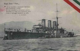 CPA  Bateau Italien Regia Nave PISA - Guerre