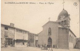 69 // SAINT ANDEOL LE CHATEAU    Place De L'église - France