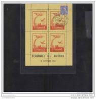 Draim Bloc Souvenir  Journée Du Timbre 1943 Saint Raphael Aviation - Philatelic Fairs