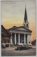 Dornbirn - Pfarrkirche, Weinstube Rotes Fass, Markt, Belebt - Dornbirn