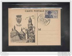 Carte Locale Journée Du Timbre 1945 Perigueux - FDC