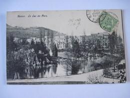 CPA  BELGIQUE Le Lac Du Parc 1908 T.B.E. - Namur
