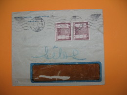 Portugal Lettre  Perforé Perfin  Perfurado :  BNU  45 - De Lisboa  - Banco Nacional Ultramarino - 1910-... Republic