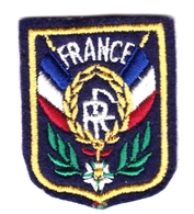 Ecusson Tissu - France - Légion D'Honneur - Blason - Armoiries - Héraldique - Scudetti In Tela