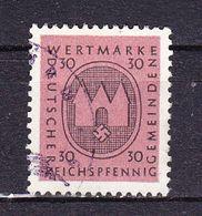 Deutsches Reich, Gemeinden, Wertmarke, 30 Pfennig (47940) - Gebührenstempel, Impoststempel