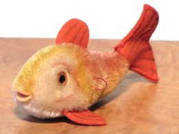 Peluche 37_steiff_petit Poisson Rouge Flossy - Steiff Animals