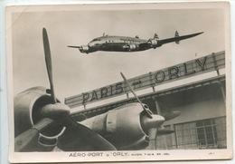Aéroport De Paris Orly : Aéro-Port D'Orly Avion T W A En Vol - Aeronáutica - Aeropuerto