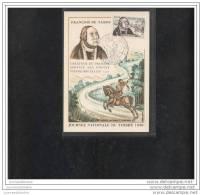 Carte Federale  Journée Du Timbre 1956 Avignon - Storia Postale