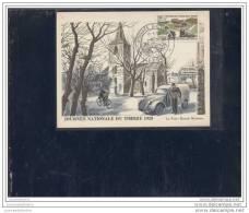 Carte Fédérale Journée Du Timbre 1958 Lyon - 1950-1959
