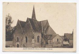 72 --SAINT GEORGES DE LA COUEE - L Eglise (SCAN RECTO VERSO)-A9 - Autres Communes