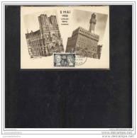 Carte Maximum Jumelage Reims Florence - Cartas Máxima