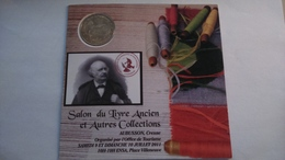Encart  SALON DU LIVRE ANCIEN ET AUTRE COLLECTION - AUBUSSON -  Monnaie De Paris......n°100/500 ...... - Monnaie De Paris