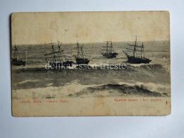 RUSSIA CRIMEA Кримський Krymśkyj YALTA JALTA Ship AK Old Postcard - Russia