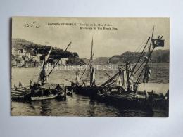 TURCHIA Turkiye  ISTANBUL COSTANTINOPLE Mer Noire Black Sea  Ship AK Old Postcard - Turchia