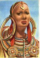 CHROMO ET IMAGE COLLECTION ECLAIR RACES HUMAINES N° 90 FEMME DRAVIDIENNE - Chromos