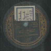"78 Tours - THE CASTILLIAN TROUBADOURS  - BRUNSWICK 15702  "" LA CUCARACHA "" + "" CANTO INDIO "" - 78 Rpm - Gramophone Records"