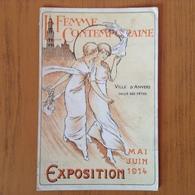 La Femme Contemporaine.Anvers 1914. - Belgique