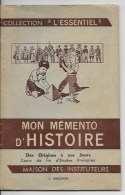 Mon Mémento D'histoire - Livres, BD, Revues