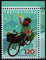 Bike Bicycle / Postman Letter Mail Postcard / 2018 Hungary - MNH - Ciclismo
