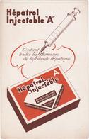 "Buvard Hépatrol Injectable ""A"" / Seringue - Produits Pharmaceutiques"