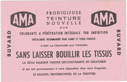"""Buvard """" AMA """" Teinture Pour Tissus - Produits Ménagers"""