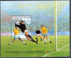 1346 Football Soccer WM Cup FIFA 1998 Sport Shr S/s MNH ** - World Cup