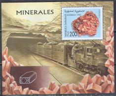 1386 Geology Minerals 1998 Shr S/s MNH ** - Minerales