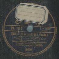 """78 Tours - FREDO GARDONI  - PATHE 156  """" SUR LE PLANCHER DES VACHES """" + """" AMUSEZ-VOUS """" - 78 Rpm - Gramophone Records"""