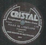 """78 Tours - GRAND ORCHESTRE DES BALS POPULAIRES  - REGAL 5511  """" POLKADE L'ENCLUME """" + """" LE JOYEUX FORGERON """" - 78 Rpm - Gramophone Records"""