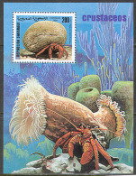 1704 ✅ Fauna Animals Marine Life Crab 1999 Shr S/s MNH ** - Marine Life