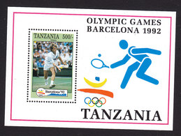 Tanzania, Scott #911, Mint Never Hinged, Olympics, Issued 1992 - Tanzania (1964-...)