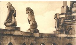 74. REIMS . LA CATHEDRALE . CHIMERES DE L'ABSIDE  . NON ECRITE - Reims
